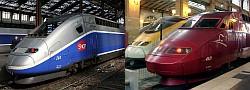 TGV en Thalys treinen